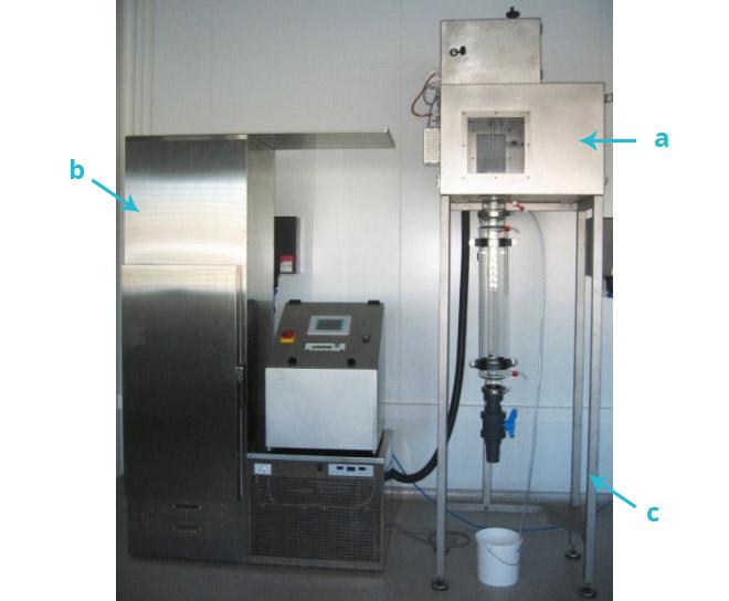 Spherisator M avec tour de refroidissement, Brace GmbH